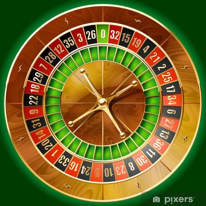 Roulette hjul Grandivy casino swirly