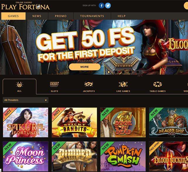 Nya spel jackpottvinst PlayFortuna omsättning