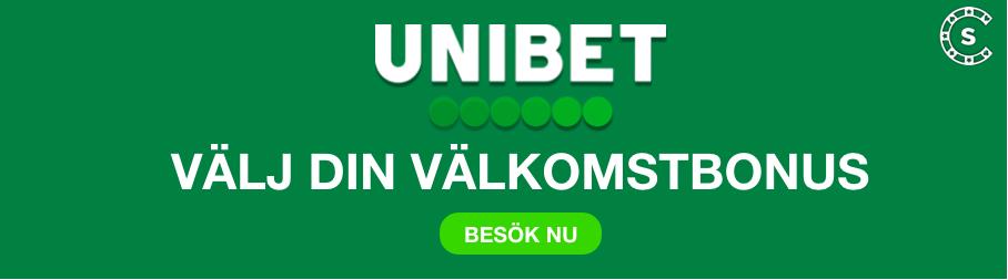 Cashback på casino Unibet finde
