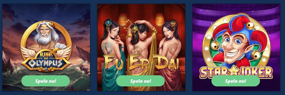 Svenska online casino 2021 baker
