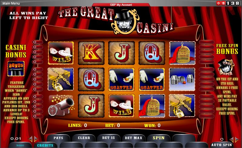 Betting odds Omni Slots 45967