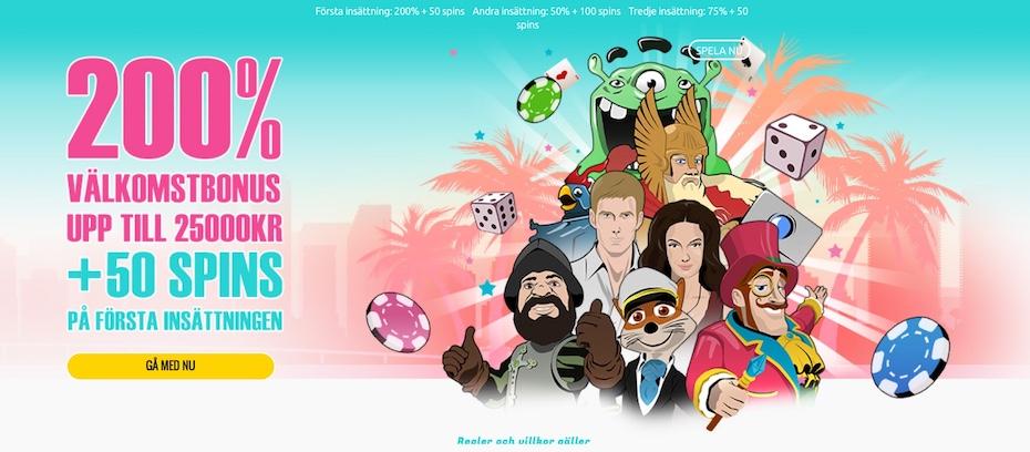 Mobilcasino i fickan Miami spinStation