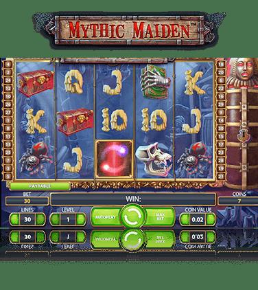 Nätcasino i mobilen Mythic 7268