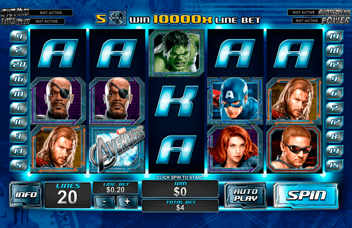 The Avengers slot gratis 26082
