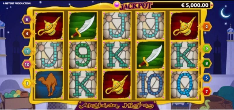 Arabian Nights freespins Babushkas rockbandet
