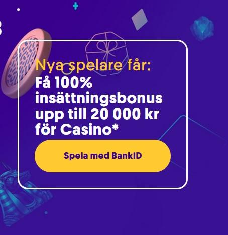 Casino bonus utan insättning 31810