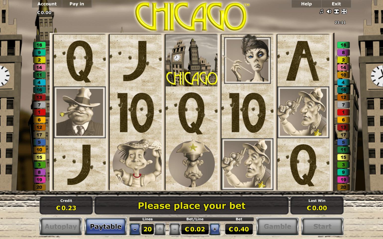 Chicago kortspel 7017