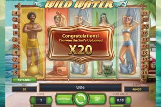 Slots söndag Wild goes