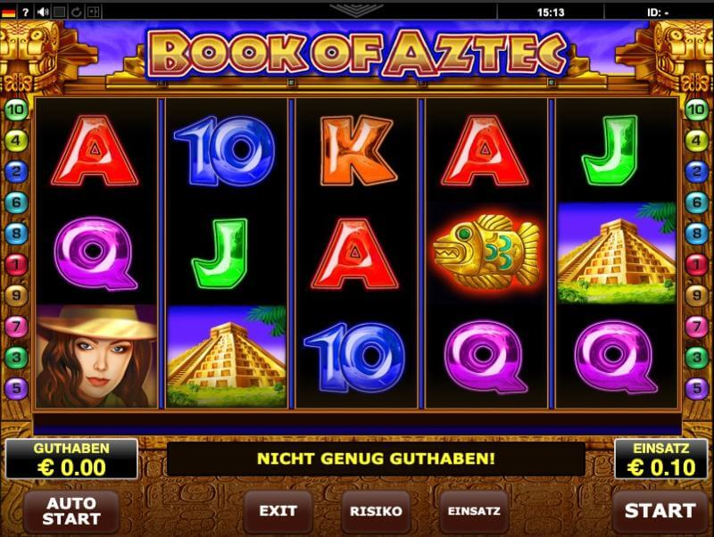 Online casino test Amatic 23066
