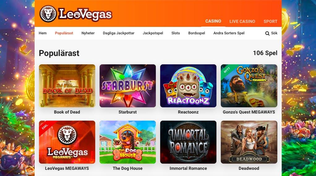 Casino 100 kr med 51212