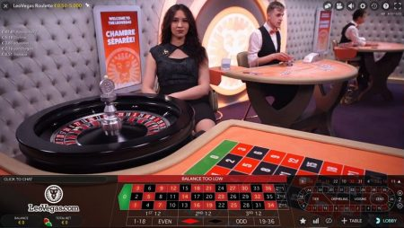 Live roulette cash Spinson tidsbegränsat