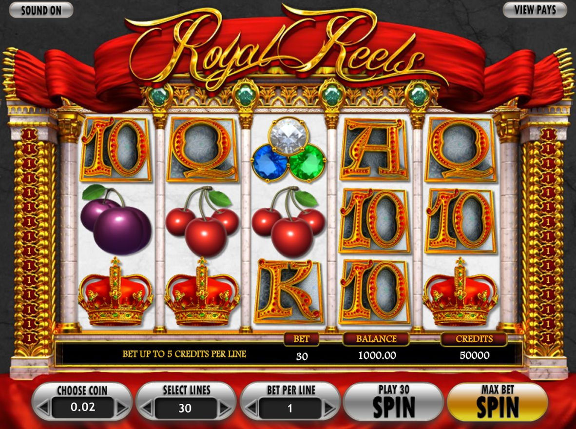 Mobile Royal Reels slot 52012