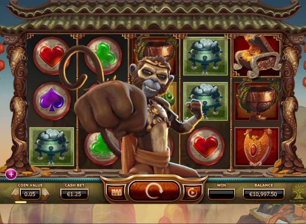Pays spelautomater Monkey 52042