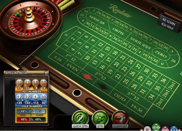 Roulette system svart 8239