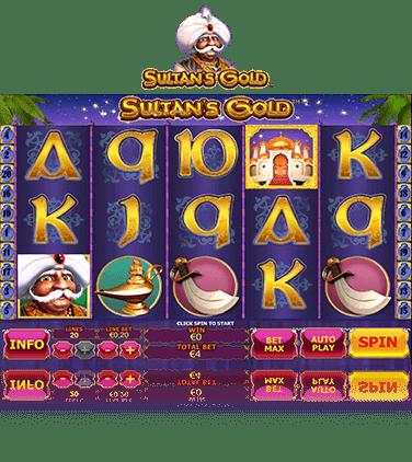 Sultans Gold slot bullet