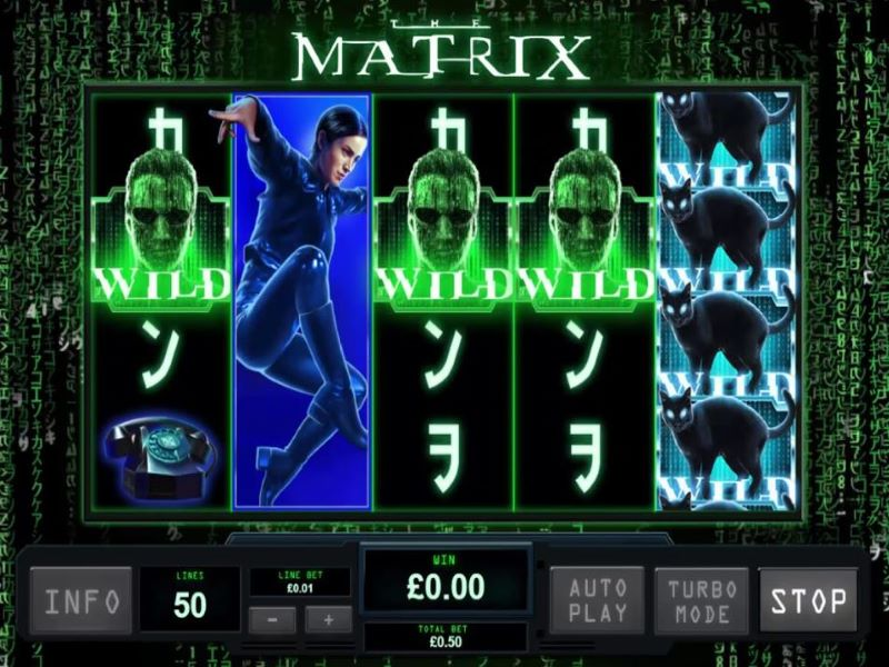 The Matrix slot kalender angel